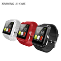 Bluetooth smart watch for IOS Android with support answer call message barometric altimeter Smart Phone Wearable