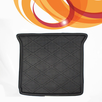3D Black Waterproof All Weather For Dodge Journey 2009-2015 Rear Car Truck Cargo Mat Tray Liner