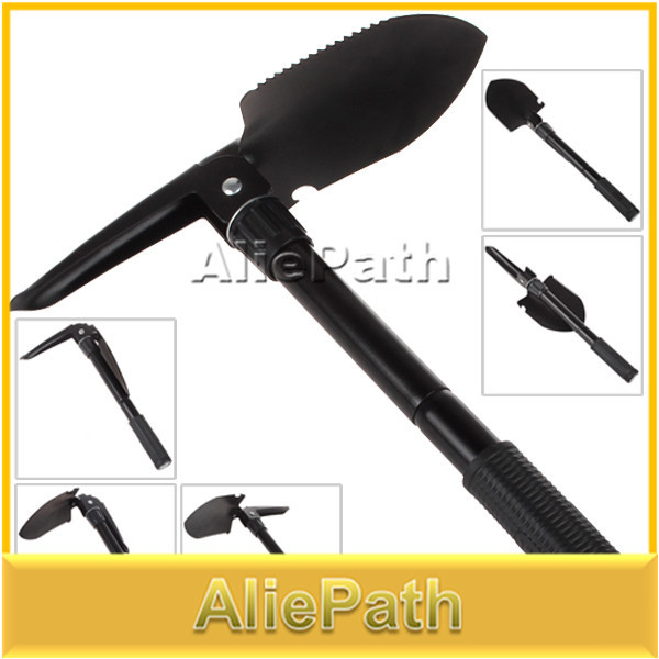 Foldable Multifunctional Shovel Can Be Used for Spade / Pick / Saw(China (Mainland))