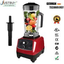 BPA Livre Temporizador Liquidificador Mixer Pesados da Classe Comercial Smoothies de Frutas Juicer Processador De Alimentos Triturador de Gelo Automático 2200 W(China)