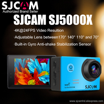 SJCAM SJ5000X Elite WiFi 4K 24fps 2K30fps Gyro Sports DV 2.0 LCD NTK96660 Diving 30m Waterproof Action Camera Optional Package