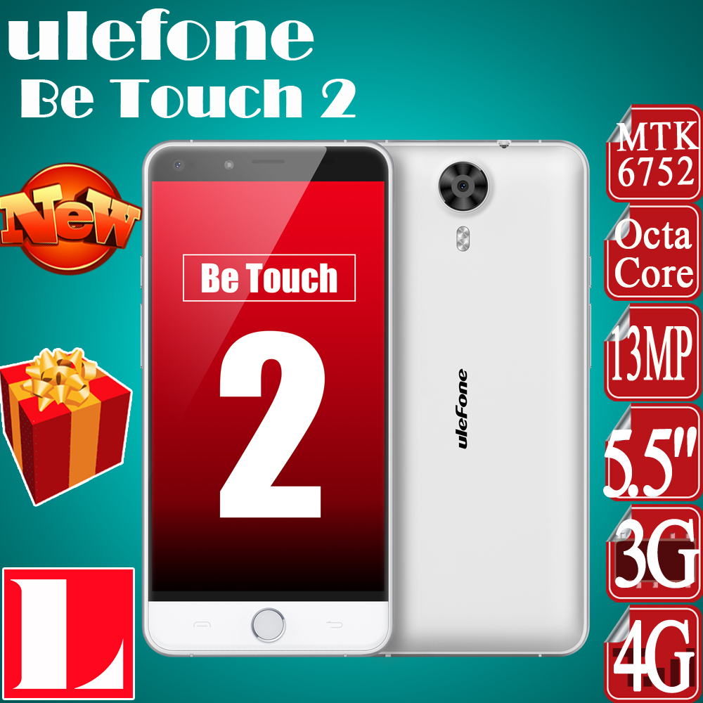In stock Gift Original Ulefone Be Touch 2 / Be Touch 5.5inch FHD 4G LTE Smart phone Android 5.1 3GB 16GB 64bit MTK6752 Octa Core(China (Mainland))