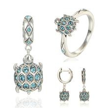 Серебряные ювелирные изделия старинные марки свадебных украшений устанавливает женщины, 925 серебряные серьги белый мелкий пары ювелирные подарки на день рождения