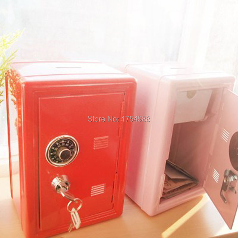 Mini Money boxes steel safe box Room password secret box escape game props(China (Mainland))