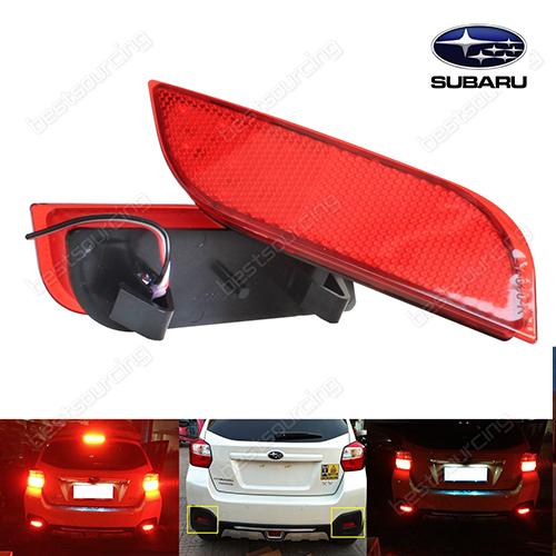 2x 26 SMD Red LED Bumper Reflector Tail Stop Brake Light Subaru Exiga Legacy XV (Fits: Subaru)<br><br>Aliexpress