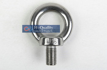 Free Shipping Wholesale Rigging Hardware M10 DIN580 Metric Thread Stainless Steel 304 Lifting Eye Bolt