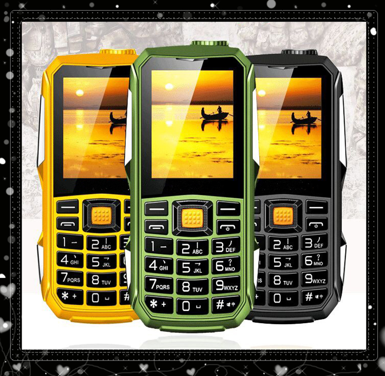 2016 Outdoor phone T700 Mobile Phone long standby 2.4 inch Lphone T700 Dustproof Shockproof Children sport phone Dual SIM card(China (Mainland))
