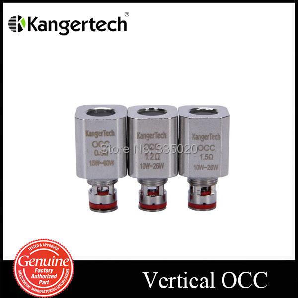 Original Kanger Subtank Vertical OCC Organic Cotton Coil OCC Coil fit for kanger subtank 0 5ohm