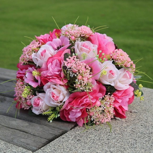 Hot wedding route guide road lead flowers with shelf