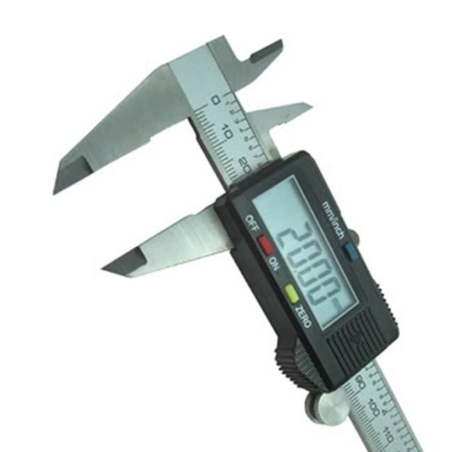 Digital Vernier Caliper Stainless Steel LCD 150mm /0.01 Measure Tool Micrometer Gauge - Shenzhen Hiteam CO.,LTD store