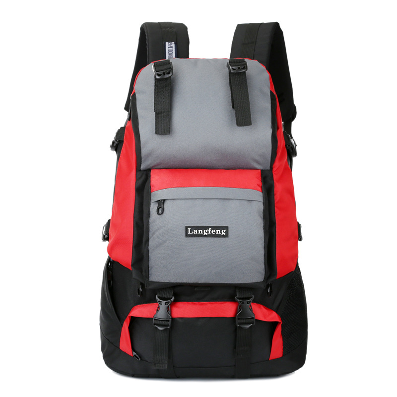 50L large men women backpack for travel climbing backpack outdoor backpack camping bag mountaineering bag mountain bag hiking669