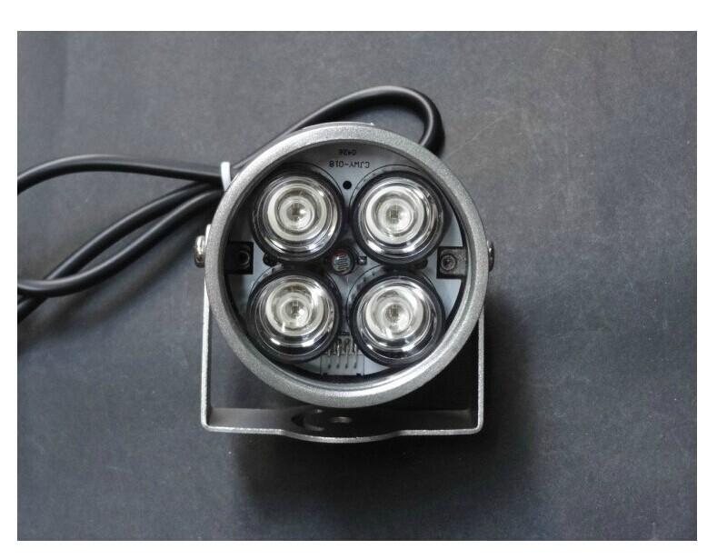 Гаджет  50 meters IR infrared illuminator light for CCTV camera IP camera fill light 850NM 4 array IR re light None Безопасность и защита