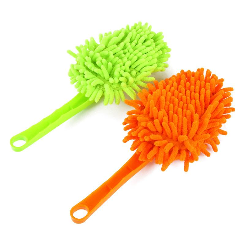 Upscale home microfiber chenille triangle brush to clean dust Shan clean washable cloth J0372(China (Mainland))