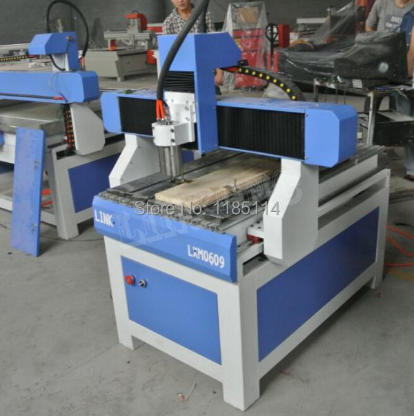 optional dust collector Link wood working cnc router 6090 with low price(China (Mainland))
