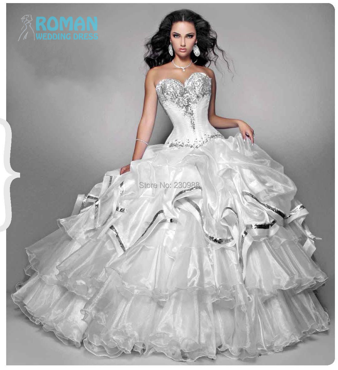 Com buy strapless sweetheart corset pleat appliques ball gown