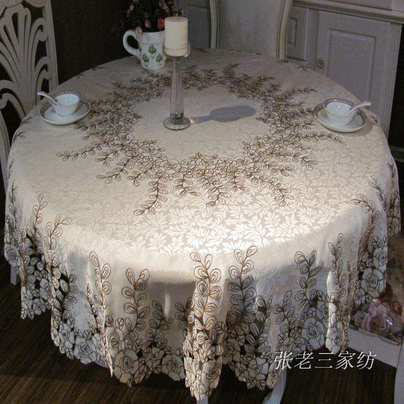 mesa de jardim jumbo:Rustic Round Table Cloth
