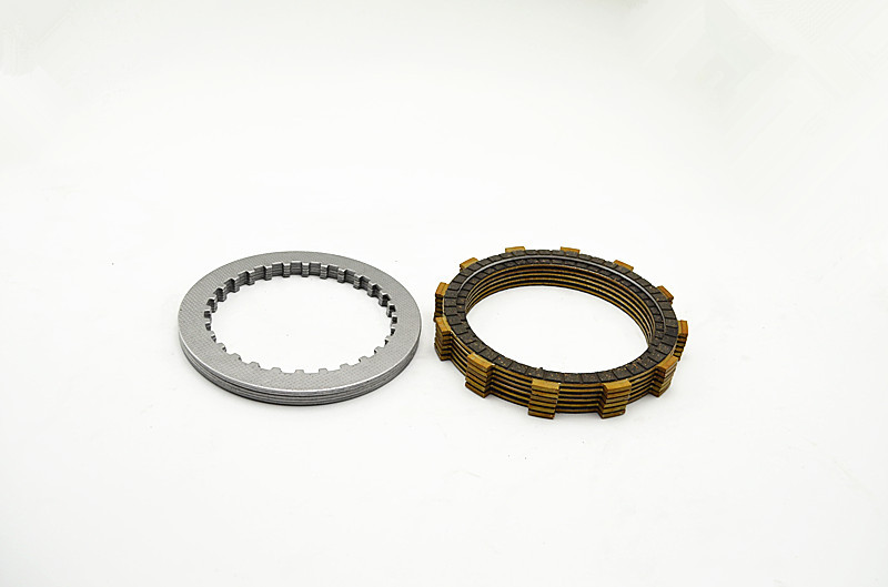 A set friction plates steel plate Motorcycle parts clutch plates friction discs FOR HONDA CB400 VTEC400