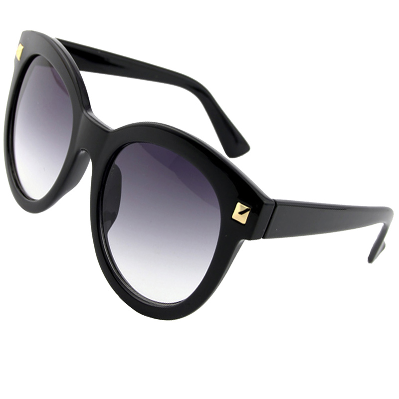 2016 New Fashion Sunglasses Women Brand Designer Big Plastic Frame Unisex Vintage Sunglasses For Women Men 3 Colors Sumery 4PCS(China (Mainland))