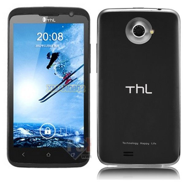 "In stock!! Original  4.7"" THL W5 Unlocked 3G phone MTK6577 Dual core WCDMA 1GB RAM 4GB ROM WIFI GPS android 4.0  Freeshipping"