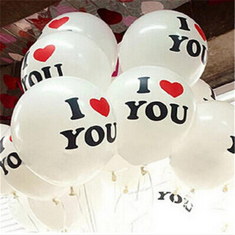 30pc 12 Inch 2.8g Romantic White Helium Balloon Latex Balloons Love Party Wedding Birthday Decoration - honest fish's store