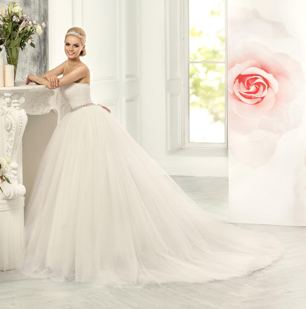 Vestido casamento крест-накрест плиссированные милая бисером принцесса свадебное платье 2015 vestido noiva винтаж свадебные платья YY029