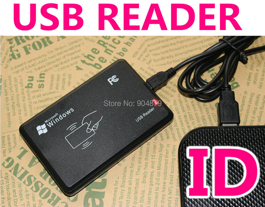 USB Desk-top Card Issue/ Reader,125KHZ RFID USB Proximity smart card Readers,USB readers read for  8- 10 digit ID card number