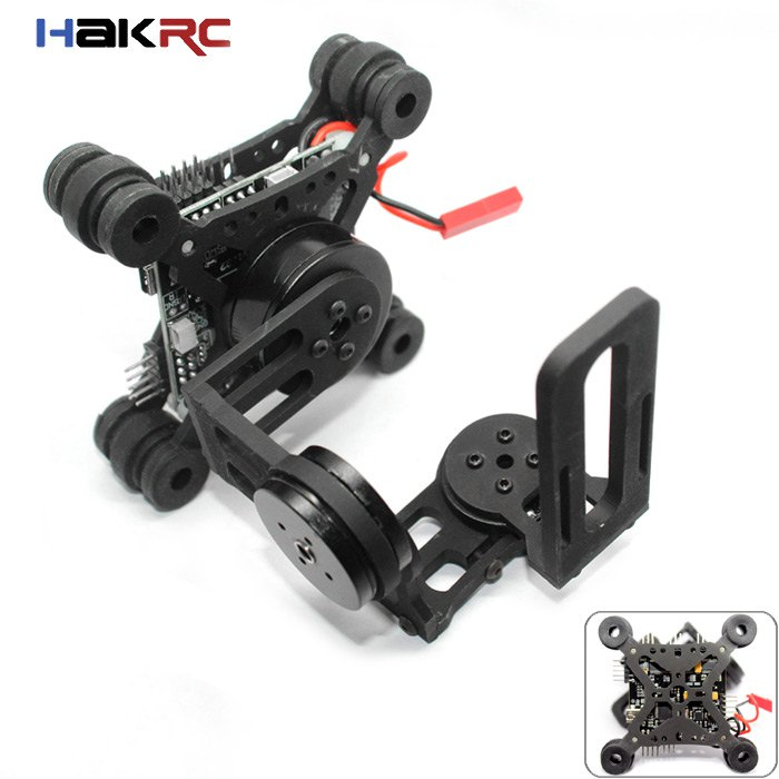 Promotion!!! Top Quality HAKRC Storm32 3 Axis Brushless Gimbal Lightweight For Gopro3 Gopro4 FPV Fittings 2016 New(China (Mainland))