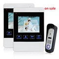 Homefong 4 TFT Color LCD Video Door Phone Doorphone Hands Free Visual Intercom Record IR Night