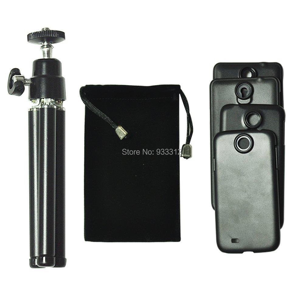 4-12x Telephoto Lens+ Aluminum Mini Tripod for Samsung Galaxy Note3 NOTE4 S5 S6 B