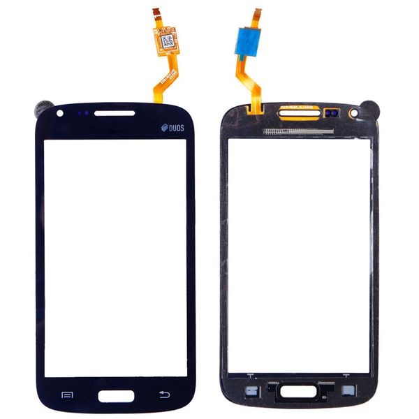 Factory high quality touch glass panel glass original For Samsung Galaxy Core GT i8260 Duos i8262 black TouchScreen Digitizer