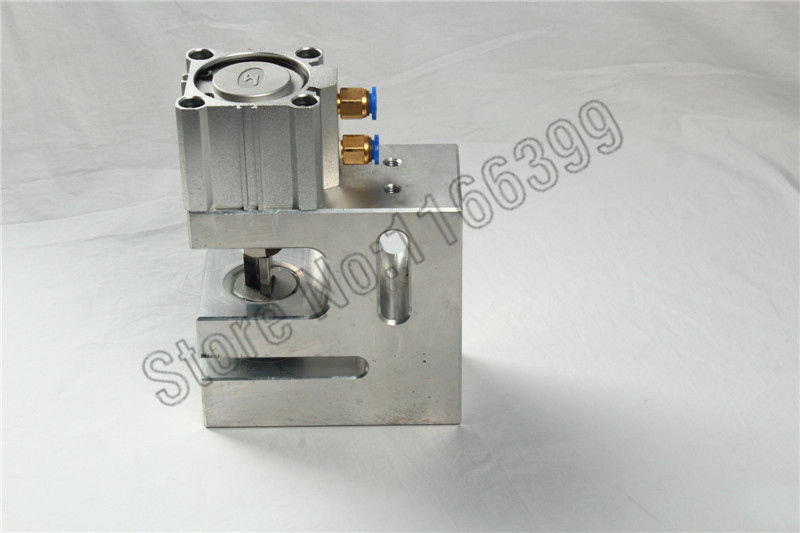 Pneumatic plastic hole punch mould for corner rounder(China (Mainland))