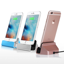 High Quality Sync Data Charging Dock Station Cellphone Desktop Docking Charger & USB Cable For Apple iPhone 5 5S 5C 6 6s 6 Plus(China (Mainland))