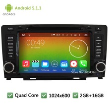 Quad Core 16GB Android 5.1.1 8 inch HD 1024*600 FM 3G Car DVD Player Radio Audio Stereo Screen GPS PC Great Wall Hover Haval H6 - Lena's Co,Ltd store