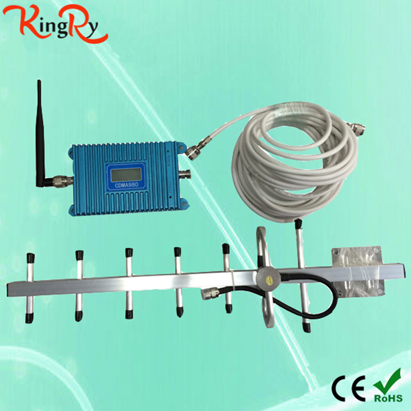 Amplificador 850Mhz CDMA Mobile Phone Signal Stronger Repeater Booster Repetidor Cell Amplifier gsm 850 repetidor celular - ShenZhen KingRy Technology Co.,Ltd store