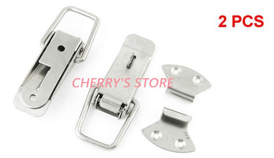 2 Set Hardware Tool Chests Case Toolbox Stainless Steel Toggle Latch(China (Mainland))