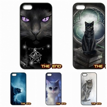 Gray Fantasy Cat Lovely Hard Phone Case Cover Coque Samsung Galaxy A3 A5 A7 A8 A9 Pro J1 J2 J3 J5 J7 2015 2016 - The End Cases Store store