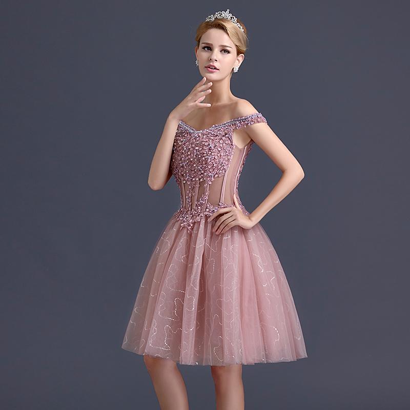Dorable Vestido Formal Del Coctel Adorno - Vestido de Novia Para Las ...