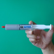 Free shipping 2pcs 30g Gray GD900 High Performance Thermal Grease Paste Silicone Heat Sink Compound CPU