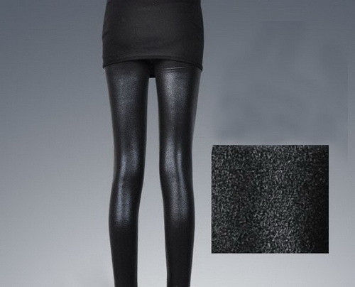 Cheap Shiny Black Leggings Women Shiny Black Legging