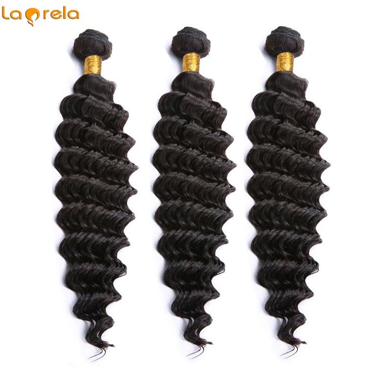 Brazilian Deep Wave Virgin Hair 3 Bundles Human Hair Extensions Brazilian Hair Weave Bundles