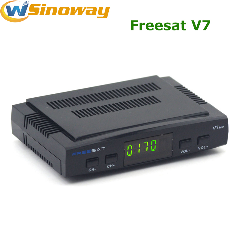 Hot in Spain Original Freesat V7 DVB-S2 HD Digital tv satellite decoder Support PowerVu Biss Key Cccamd Newcamd Youtube Youporn(China (Mainland))