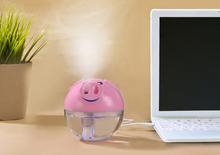 Эфирное масло диффузор < 36db один Cb Ce портативная Mini хотите свинья ультразвуковая воздушный увлажнитель-очиститель с ночным лёгкие