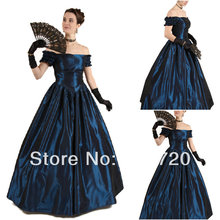 1890s Victorian Corset Gothic/Civil War Southern Belle Ball Gown Dress Halloween dresses Sz US 6-26 XS-6XL V-12242