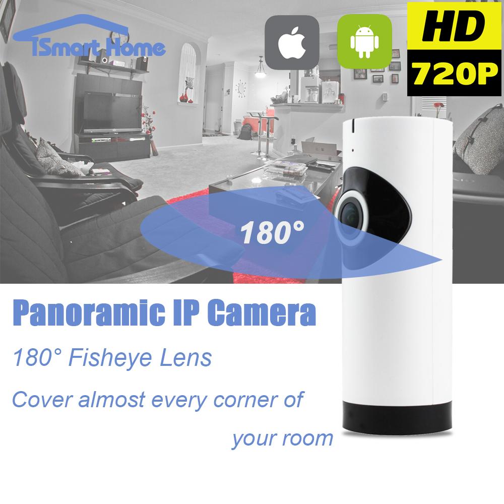 Fisheye 360 Degree Panoramic Wirelss IP Night Vision Camera WIFI P2P Onvif Network Camera SD Card IOS Android Hidden Home Cam(China (Mainland))