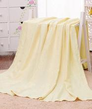 Bamboo Fiber Towel Blanket On the Bed Sofa Cover Baby Throw Blankets Travel Picnic(China (Mainland))