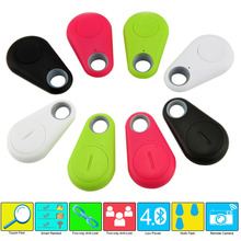 Smart Tag Wireless Bluetooth Tracker Child pets Bag Wallet Key Finder GPS Locator itag 4.0 anti-lost alarm for iPhone/Samsung