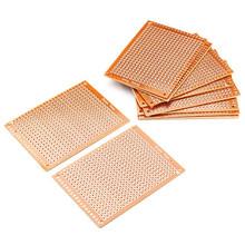 2016 Electronic kit Circuit Breadboards 10pcs Blank PCB Breadboard Universal DIY Phototype Board Single Side(China (Mainland))