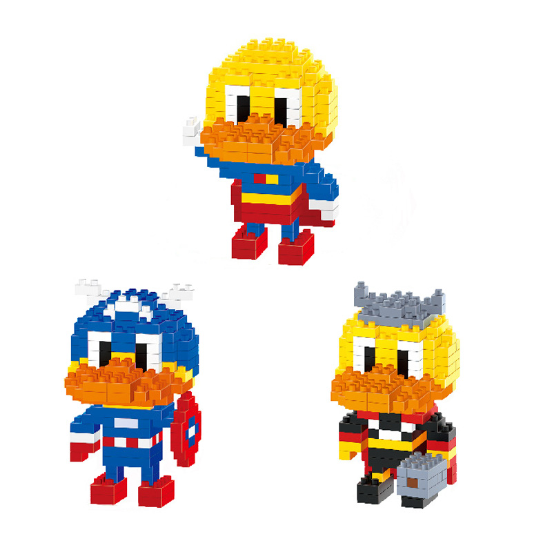 Little Yellow Duck Model Action Figures Cute Fun Cartoon Characters font b Anime b font Gift