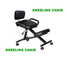 GLOBAL POPULAR OFFICE ERGONOMIC KNEELING CHAIR IN ADJUSTABLE HEIGHT AND FOLDED IRON MATERIAL(China (Mainland))