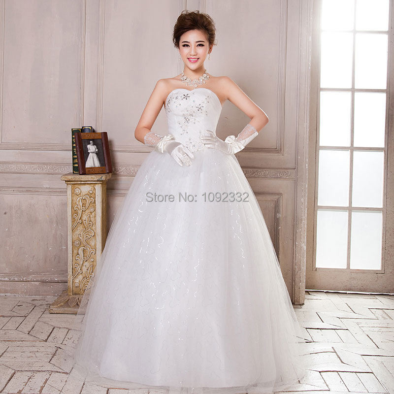 S 2016 stock new plus size women vintage princess bridal for Princess plus size wedding dresses